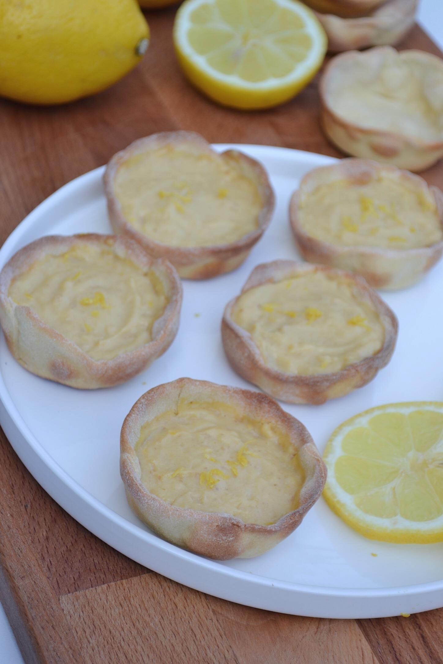 Tartelettes au citron SSA