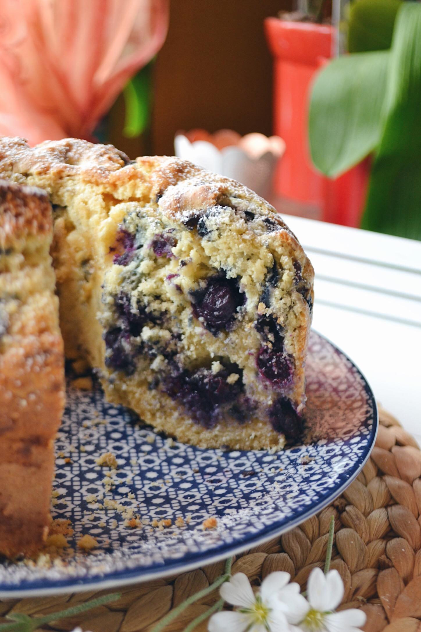 Cake myrtilles