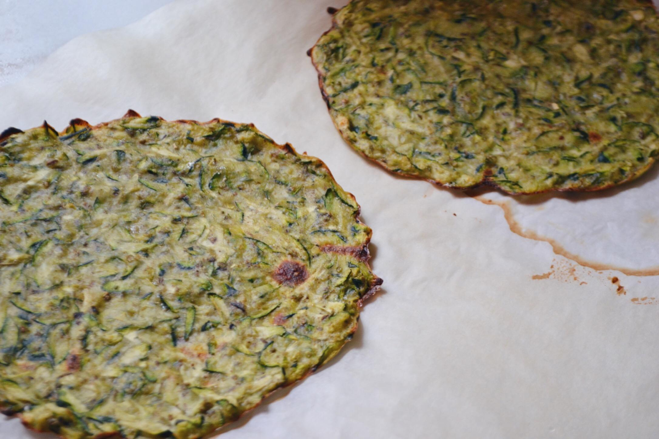 Tacos de courgette