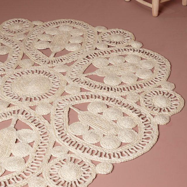 tapis rond cyrillus