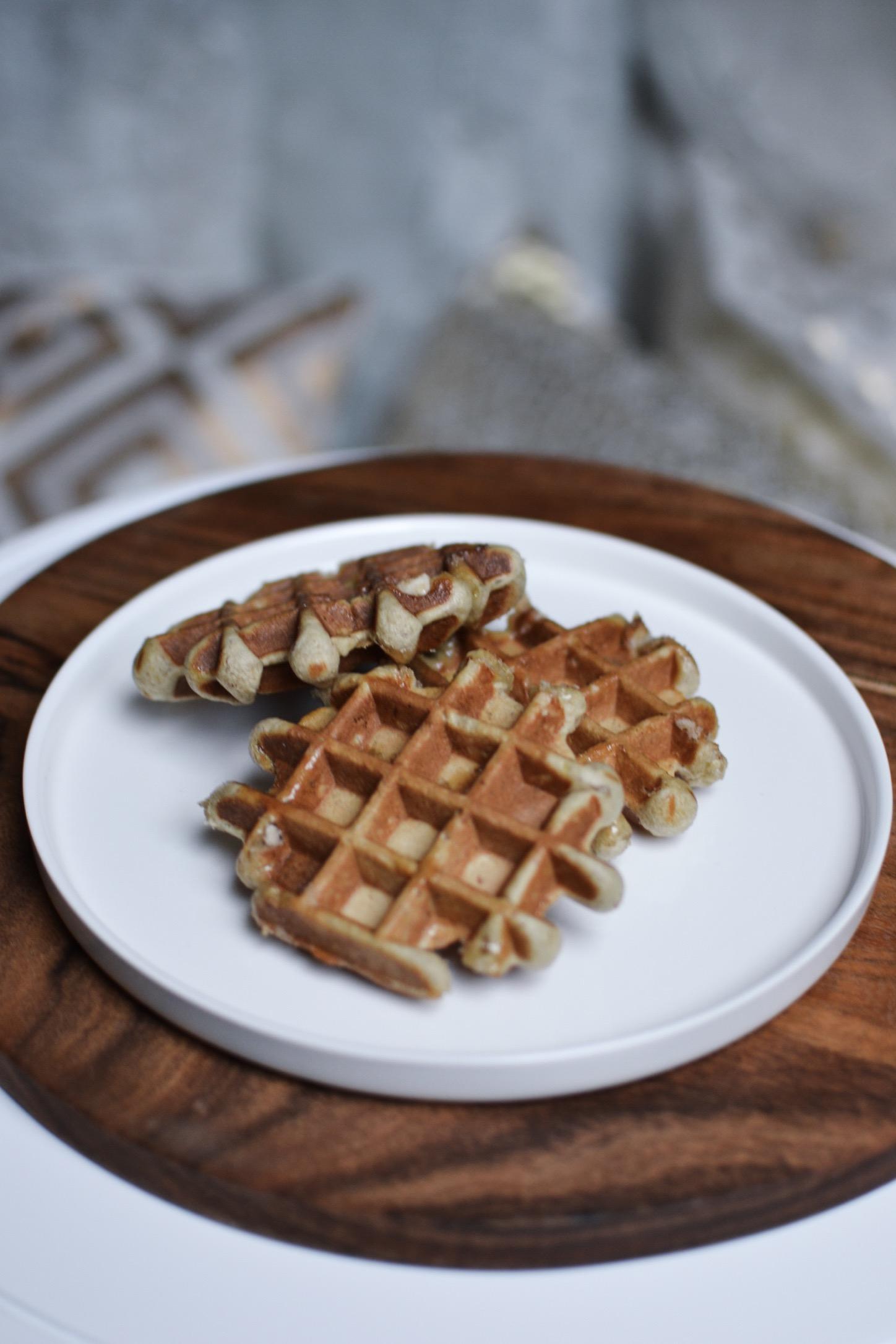gaufre sans sucre et sans beurre