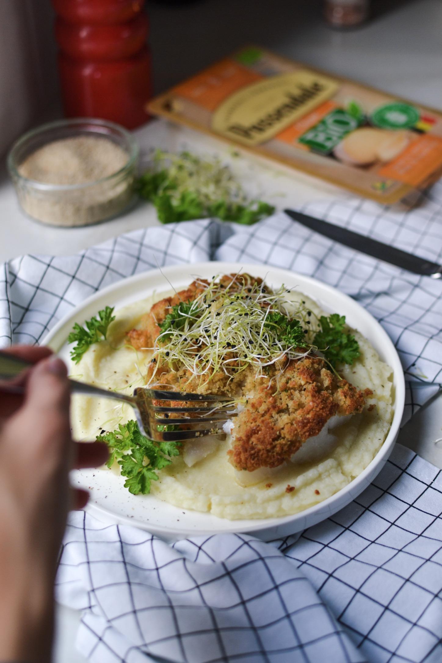 Poisson en croûte de fromage Passendale