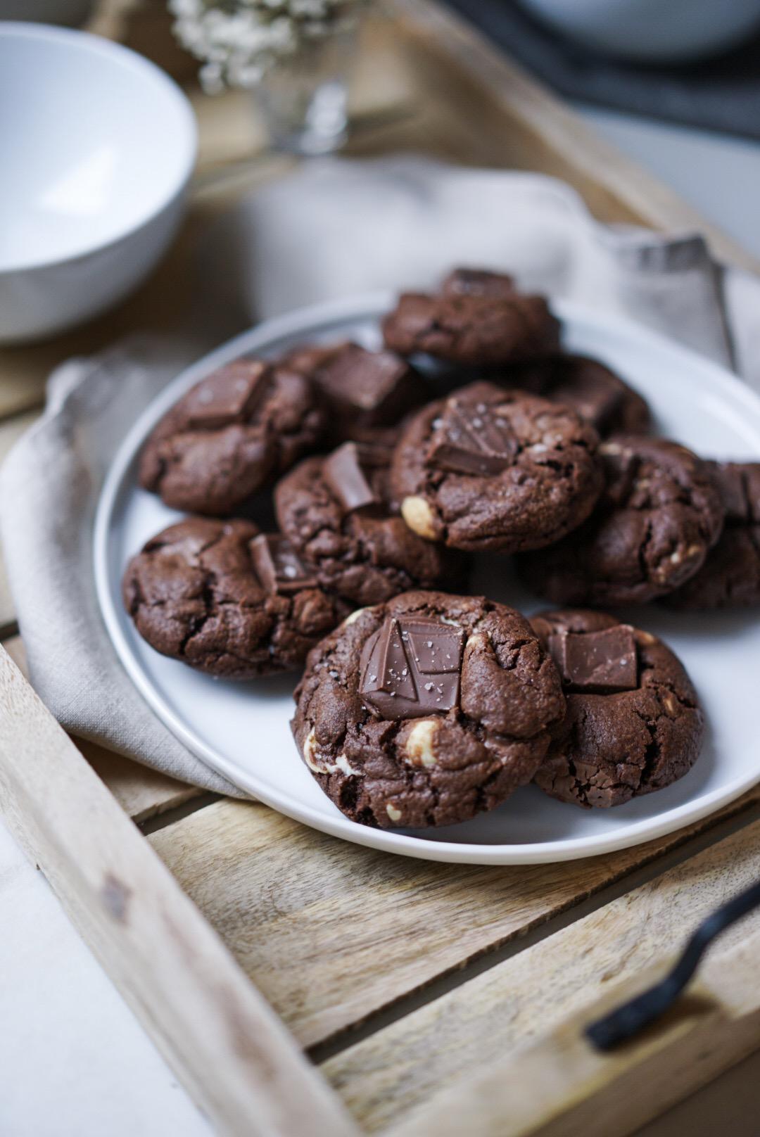 Cookies chocolat brownies