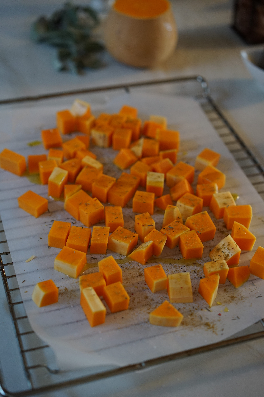 Couscous perlé au beurre de sauge et butternut