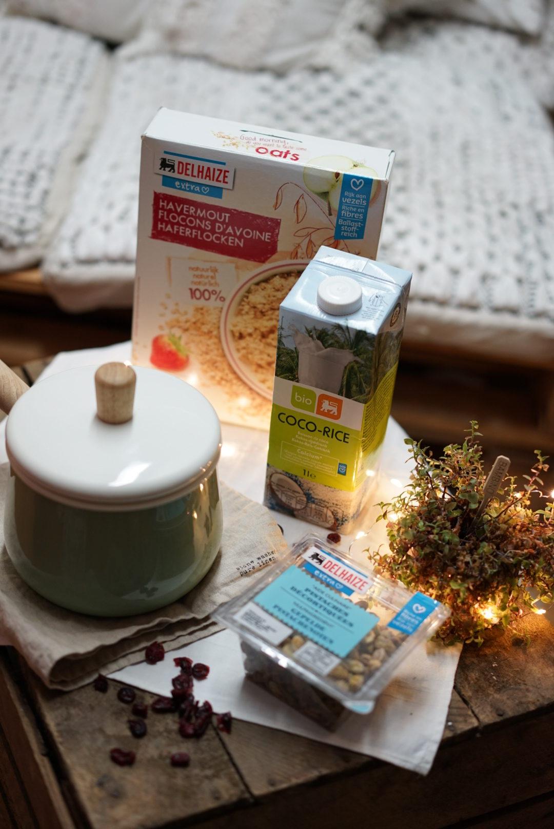 Porridge coco - pommes
