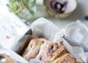 Brioche roulée cheesecake myrtilles