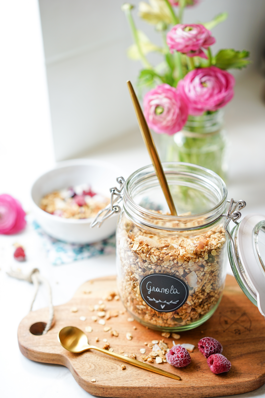 Healthy granola coco
