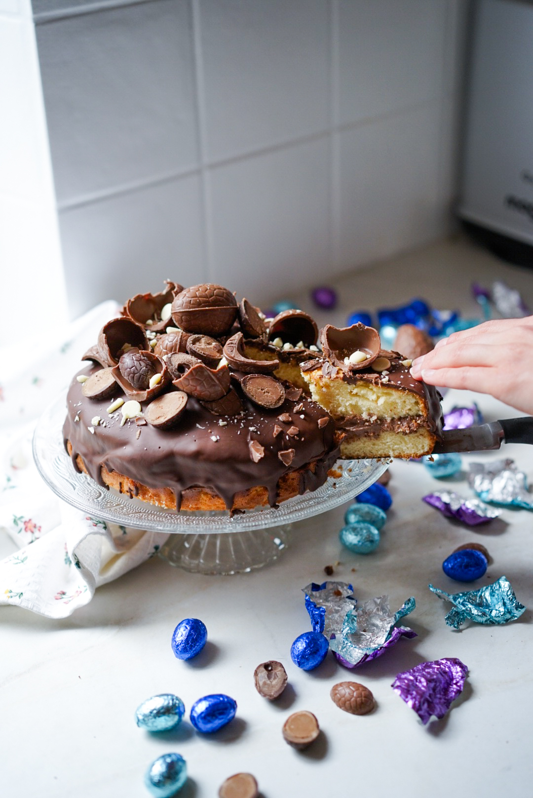 Gâteau de Pâques - Easter cake