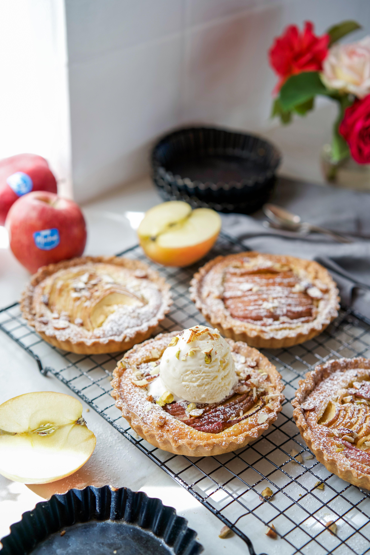 Tarte aux pommes frangipanne