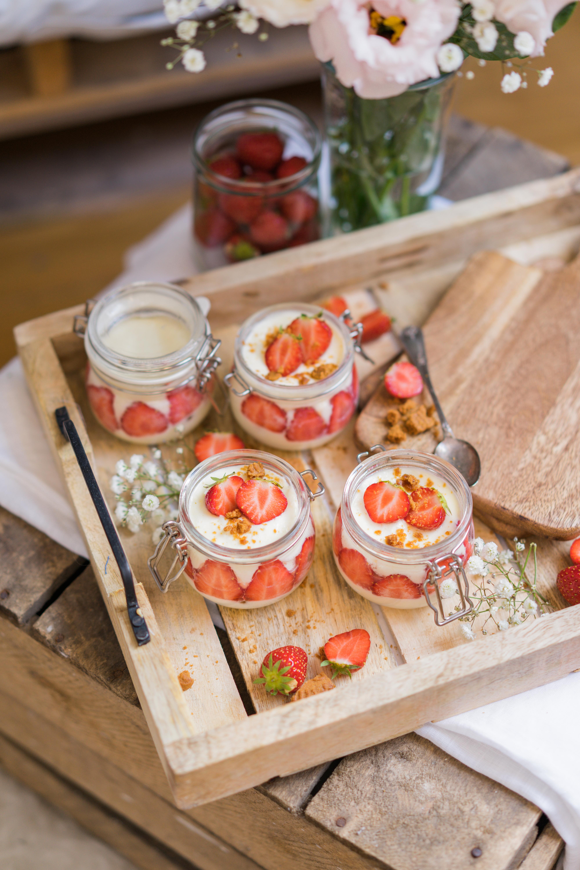 Tiramisu spéculoos allégé aux fruits rouges