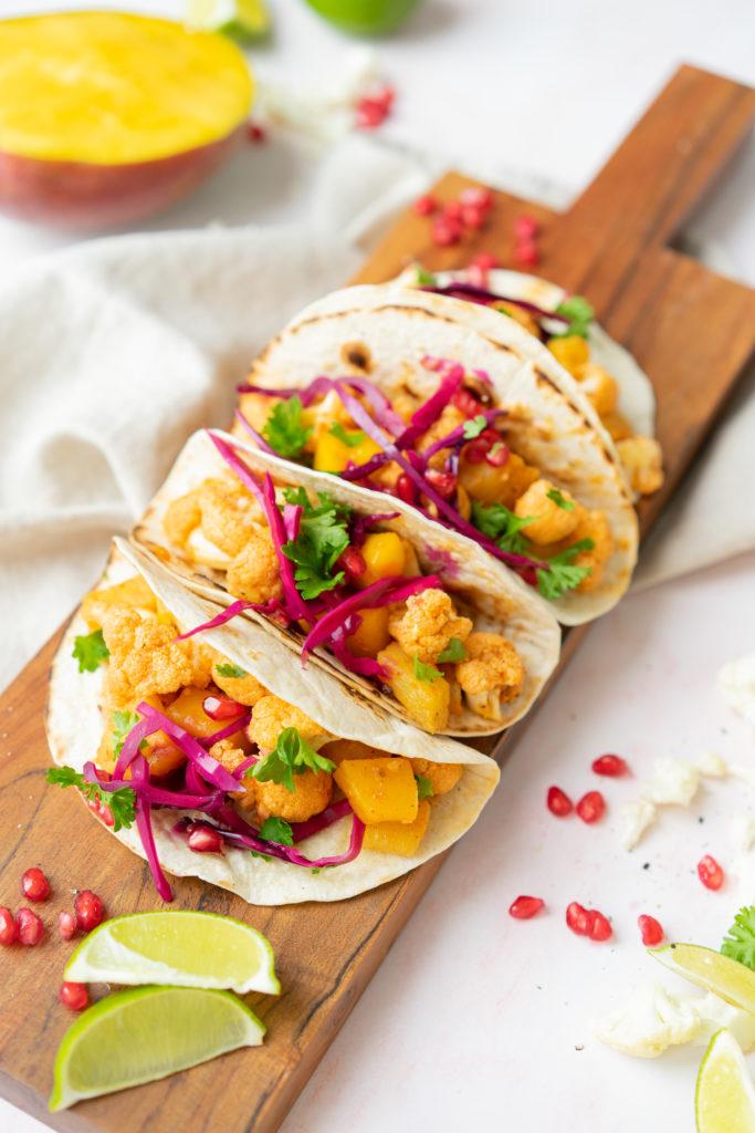Tacos au chou-fleur vegetarien