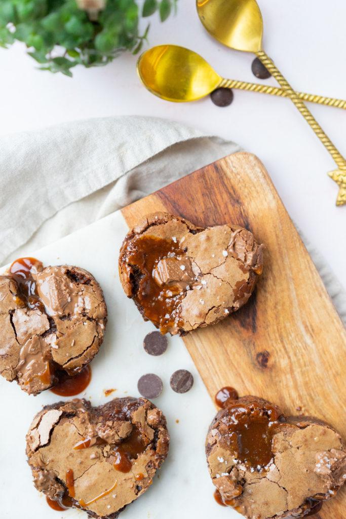 Brownies caramel beurre-salé