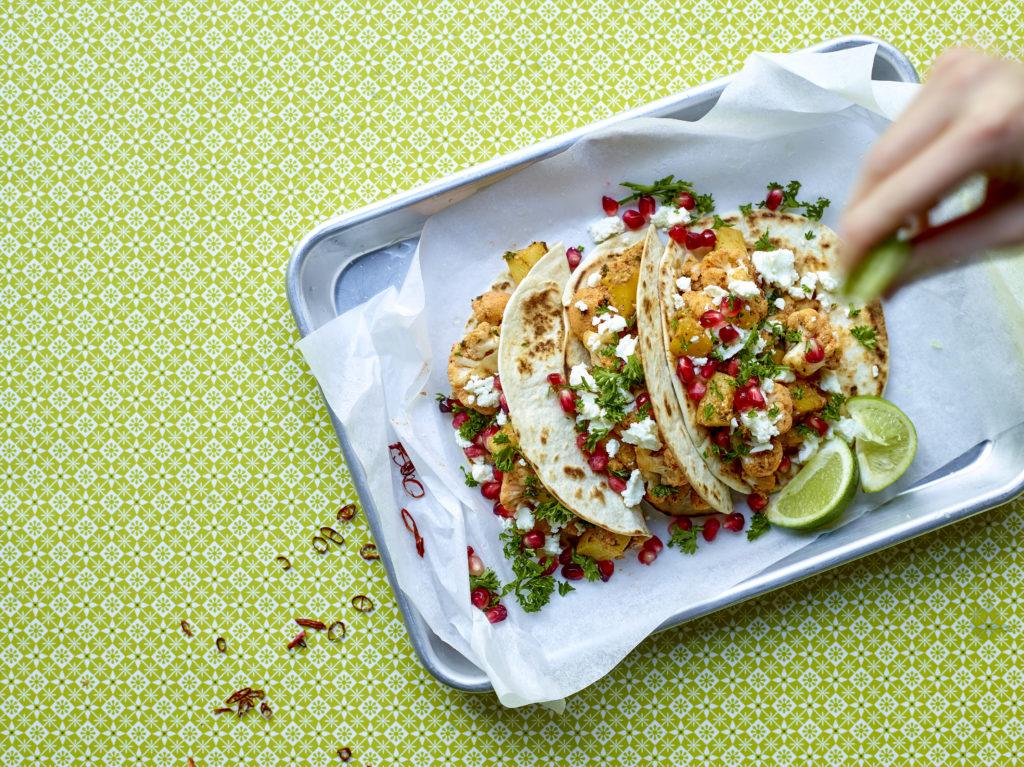 Tacos au chou-fleur