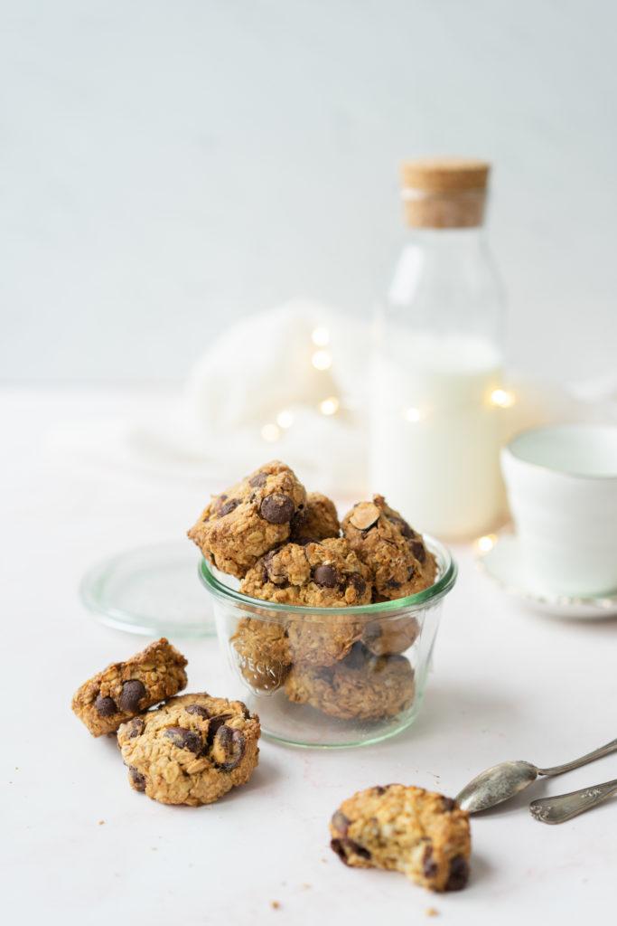 Biscuits avoine et chocolat