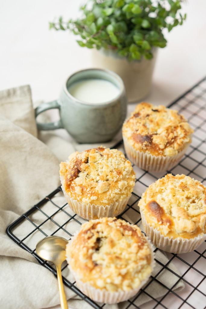 Muffins sans beurre coeur chocolat