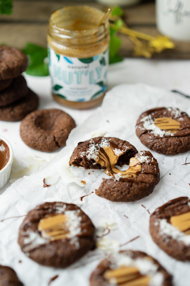 Biscuits cœur coco-amandes